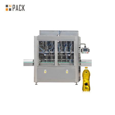 Máquina automática de enchimento horizontal de líquido e óleo de cozinha