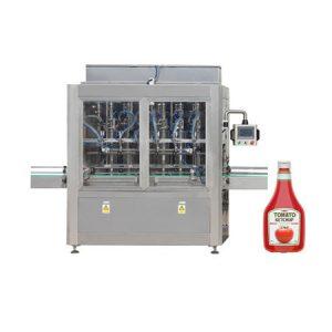 Máquina de enchimento de pasta para pasta de tomate, creme cosmético
