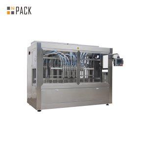 Máquina de enchimento líquida reta automática de seis cabeças