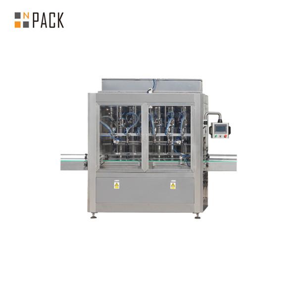 Máquina de enchimento de pistão linear linear automático para óleo essencial