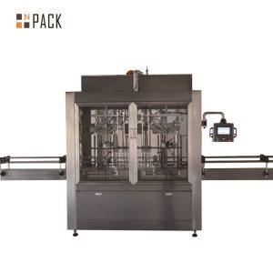 Máquina de enchimento de óleo de garrafa comestível de alto desempenho