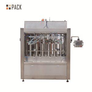 Máquina de enchimento líquida automática de molho de tomate volumétrico