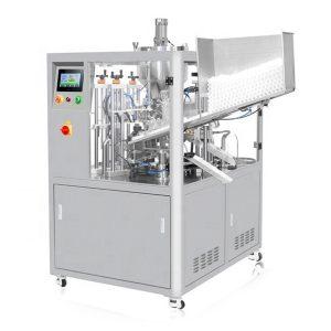 Máquina de enchimento cosmética do tubo da selagem ultra-sônica