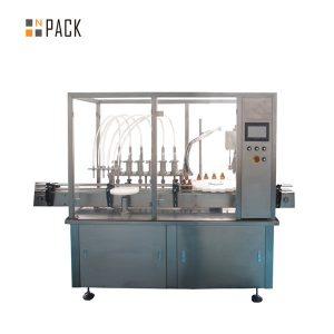 Máquina de rotulagem e tamponamento de garrafas pequenas de 30 ml