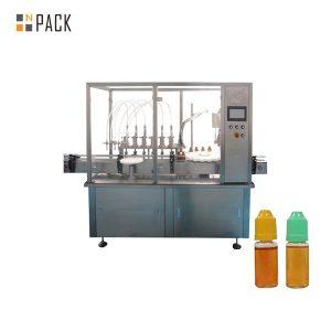 Máquina de enchimento líquida da bomba peristáltica para a garrafa pequena do tubo de ensaio