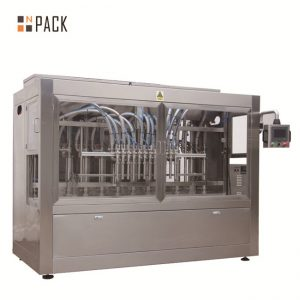 8 bicos de enchimento automático líquido / pasta / molho / máquina de enchimento de mel