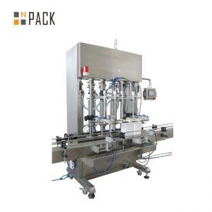Máquina de enchimento automática de líquidos para óleo lubrificante