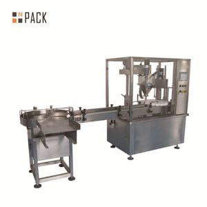 2 oz máquina de enchimento frasco de enchimento e tampando a máquina