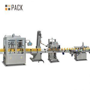 máquina de enchimento de pistão de geleia, máquina de enchimento automática de molho quente, linha de produção de molho de pimenta