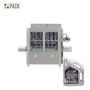 Máquina de enchimento pneumática principal da pasta do enchimento do mel do pistão de 5-5000 ml para a garrafa líquida