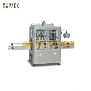 Máquina de envase de líquido para lavagem de louça / máquina de envase de limpador de vaso sanitário / máquina de envase de detergente