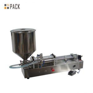 Máquina de enchimento muito popular do gelado / máquina de enchimento dobro das cabeças / máquina do enchimento do verniz para as unhas