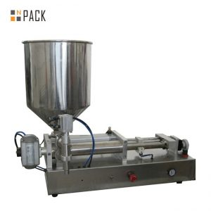 Máquina de enchimento líquida de ácidos semi automáticos de Costomic 2 cabeças