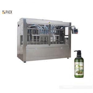 Máquina de engarrafamento automática completa para shampoo de banho manual