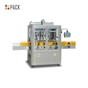 máquina de enchimento e nivelamento de líquidos para garrafas de xarope