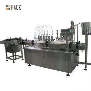Máquina tampando de enchimento da gota de olho 10ml e máquina de etiquetas
