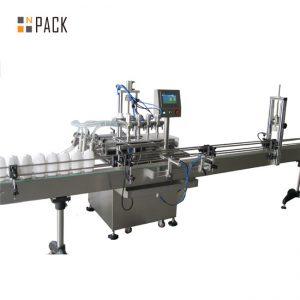 Máquina automática de enchimento de óleo comestível para garrafas de 5 litros