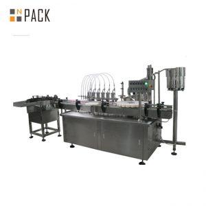 Máquina de enchimento digital automática com líquido e creme de múltiplas cabeças