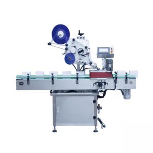 Máquina de rotulagem automática automática de contêineres tipo vertical